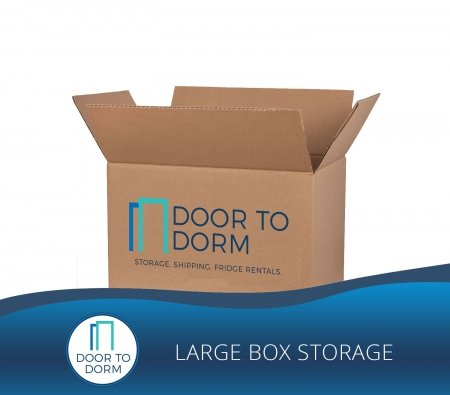 Large Box Storage - Door to Dorm