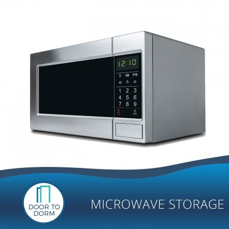 Microwave Storage - Door to Dorm