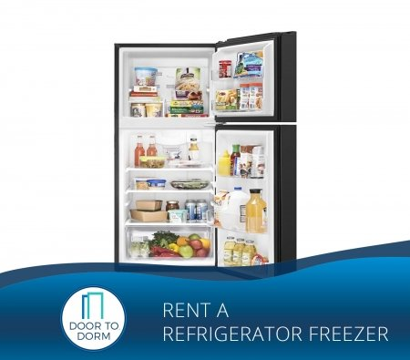 Rent Fridge Freezer in NYC - Door to Dorm