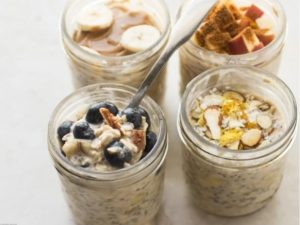 5 Meals, Overnight Oats, Door To Dorm