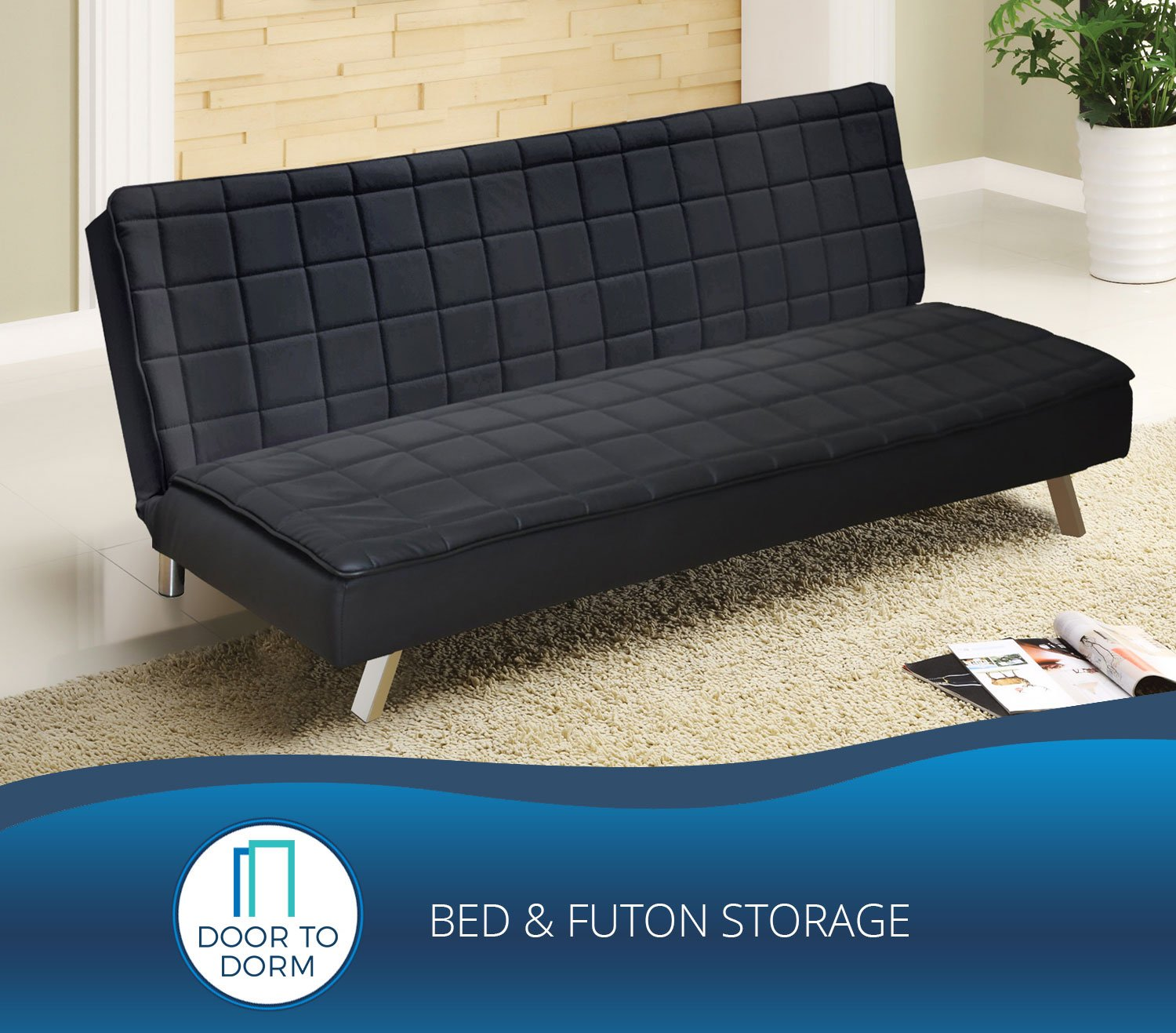 room bed storage cart to futon door dorm and futons product