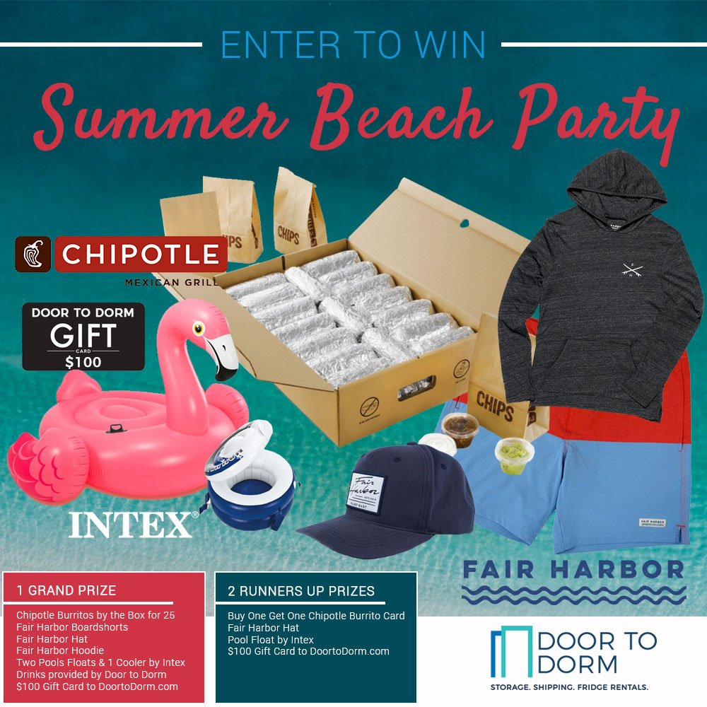 Win a Beach Party Sweepstakes