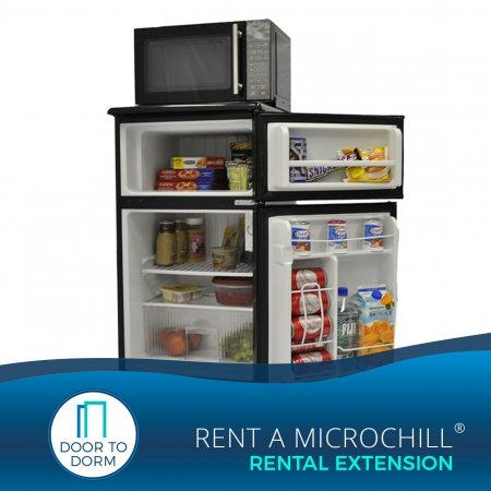 Microchill, Microfridge, mini fridge, microwave