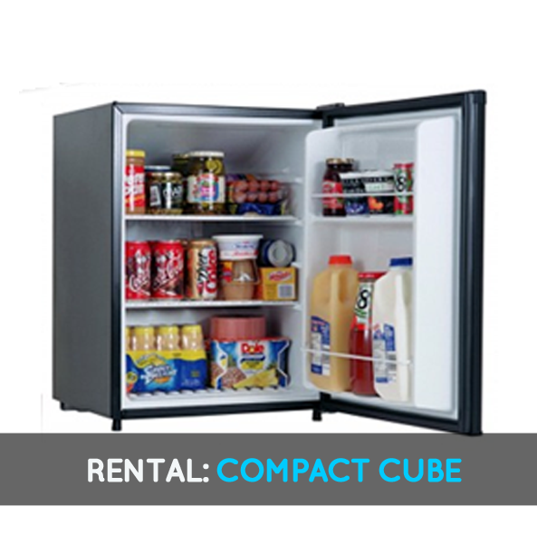 Compact Cube Fridge Rental 1 Academic Year Door To Dorm